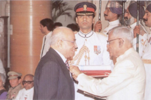Founder Chairman awarded with Padma Shri