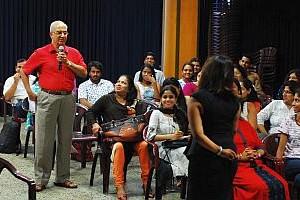 Navhind Times Zest Workshop on Dressing Right