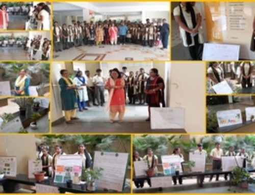 Plant Exhibition organized by Vasantrao Dempo Higher Secondary School of Science, Commerce and Arts