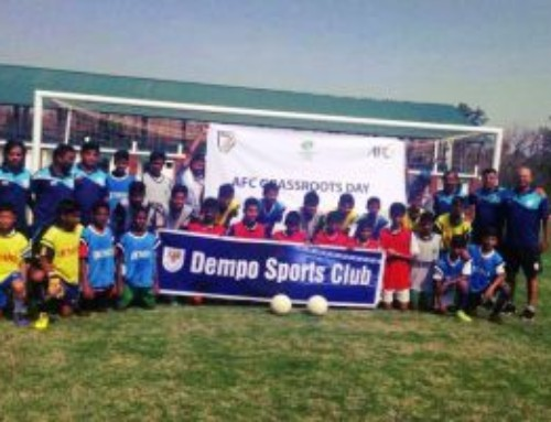 Dempo Sports Club mark AFC Grassroots Day