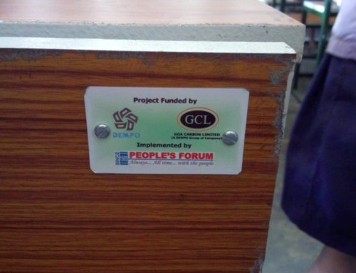 Goa Carbon Ltd CSR at School in Paradeep, Odisha