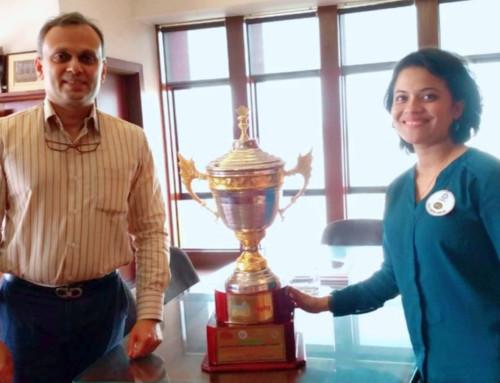 Ambassador Bhakti Kulkarni Wins Big!