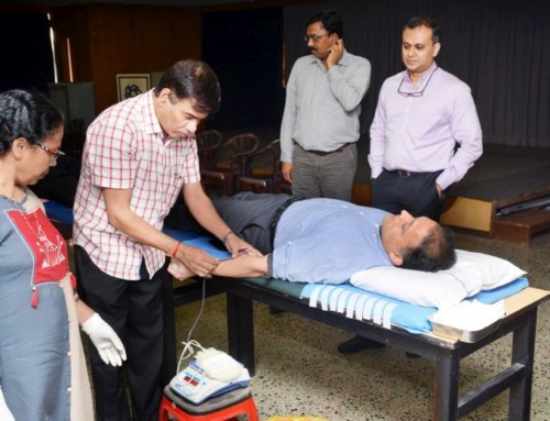 Blood Donation Tribute In Memory Of Former Dempo Chairman