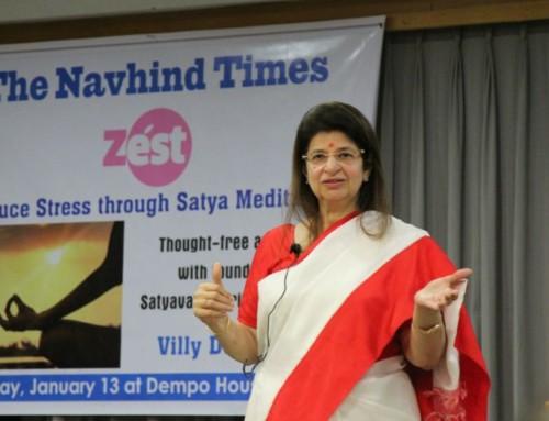 Managing stress through Satya meditation
